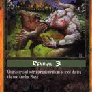 Rage Justice Under Gaia (Unlimited Edition) near mint card