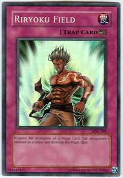 Yugioh Riryoku Field LON-081 Unlimited Edition Excellent Card Super Rare Holo