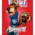 HOODWINKED TOO original movie poster d/s 27x39 HOOD vs. EVIL (red)