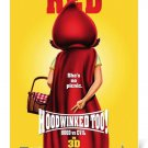 HOODWINKED TOO original movie poster d/s 27x39 HOOD vs. EVIL (yellow)