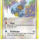 Pokemon Bagon (Deoxys) 52/107 near mint card Reverse Holo Common
