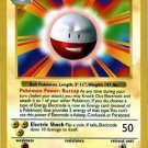 Pokemon Electrode #21/102 (Base Set) Unlimited Edition near mint card Rare Non Holo