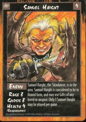 Rage Samuel Haight (Unlimited Edition) near mint card