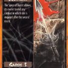 Rage Spear of Deceit (Unlimited Edition) near mint card