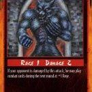 Rage Stinging Wound (Limited Ediiton) near mint card