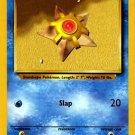Pokemon Staryu (Base Set) Unlimited Edition #65/102 near mint card Common