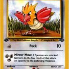 Pokemon Spearow (Jungle) 62/64 1st Edition near mint card Common