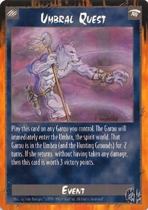 Rage Umbral Quest (Limited Ediiton) near mint card
