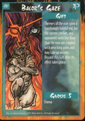 Rage Balor's Gaze (Unlimited Edition) near mint card