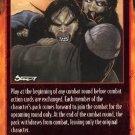 Rage Bum Rush (Unlimited Edition) near mint card