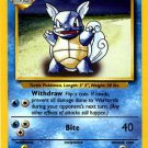 Pokemon Wartortle (Base Set) 42/102 Unlimited Edition near mint card Uncommon