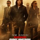 Mission Impossible Ghost Protocol mini movie poster Tom Cruise