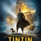 The Adventures of Tin Tin mini movie poster (2011)