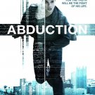 ABDUCTION 13x20 MOVIE POSTER Taylor Lautner Sigourney Weaver