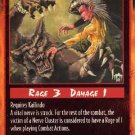 Rage Nerve Cluster (Unlimited Edition) near mint card