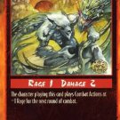 Rage Off-Balance Attack (Unlimited Edition) near mint card