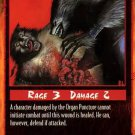 Rage Organ Puncture (Unlimited Edition) near mint card