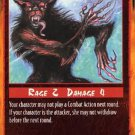 Rage Overextended Attack (Unlimited Edition) near mint card