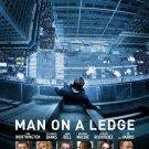 Man On A Ledge Mini Movie poster Sam Worthington Elizabeth Banks Jamie Bell Ed Harris