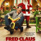 Fred Claus Advance Movie poster Vince Vaughn Paul Giamatti