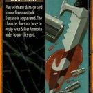 Rage Silver Ammo (Unlimited Edition) near mint card