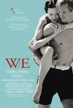 W.E. W E Original D/S 27X40 Movie Poster Madonna Cornish D'Arcy Wallis Edward