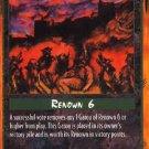 Rage Winter Wolf (Unlimited Edition) near mint card