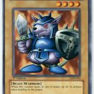Yugioh Beaver Warrior (LOB-064) Unlimited Edition near mint card Common
