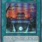 Yugioh Temple of the Six (STOR-EN051) 1st Edition near mint card Super Rare Holo
