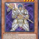 Yugioh Garoth, Lightsworn Warrior (RYMP-EN101) 1st edition near mint card Silver Letter Rare