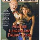 Femme Fatales Magazine Vol. 8 #7 (Freddy Kreuger) very fine copy