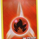 Pokemon Promo Card League 2011-2012 (Black & White) Foil Fire Energy Card #106/114 near mint card