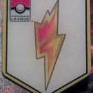 Pokemon League Pin Bolt Badge (brand new condition)