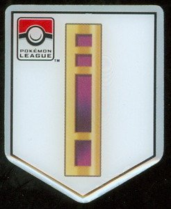 Pokemon League Pin Basic Badge (brand new condition)