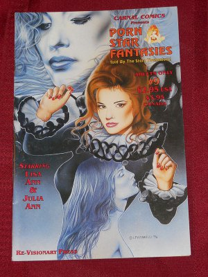 Carnal Comics Presents Porn Star Fantasies #9 (Lisa Ann & Julia Ann) 1996