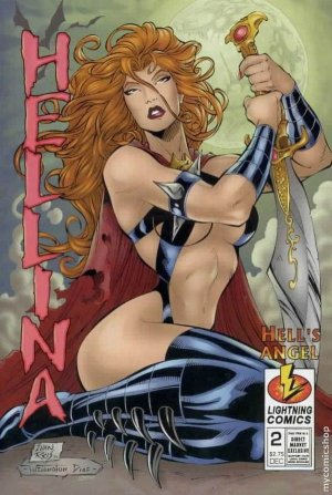 Helling Hell's Angel #2 (Lightning Comics) near mint comic (1997)