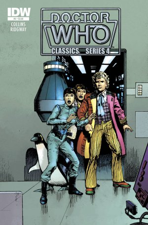 Doctor Who Classics Series 4 #5 (2012) near mint comic IDW