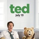 Ted Advance Promotional Mini Movie poster Mark Wahlberg Mila Kunis
