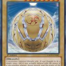 Yugioh Hieratic Seal of the Sun Dragon Overlord (GAOV-EN002) 1st edition near mint card Common