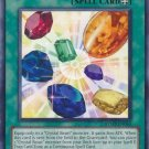Yugioh Crystal Release (RYMP-EN054) unlimited edition near mint card Common