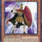 Yugioh Heroic Challenger - Spartan (REDU-EN005) 1st edition near mint card Common