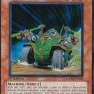Yugioh Ally of Justice Searcher (HA02-EN019) unlimited edition near mint card Super Rare Holo