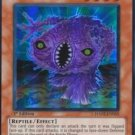 Yugioh Worm Rakuyeh (HA02-EN055) unlimited edition near mint card Super Rare Holo