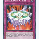 Yugioh Magician's Circle (TU08-EN020) near mint card Common