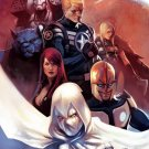 Secret Avengers poster Moon Knight Nova Black Widow War Machine(24 x 36 inches) Full Size Poster
