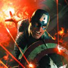 Ultimate Comics Captain America poster 24x36 in (full size) by Komarck