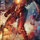 Pacific Rim Advance Promotional movie poster (2013)