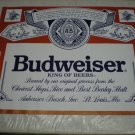 Vintage 1987 Budweiser Advertising Poster 22 x 28 inches