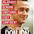 Don Jon Advance Promo Movie poster Joseph Gordon-Levitt Scarlett Johansson Free Shipping