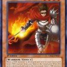 Yugioh Brushfire Knight (CBLZ-EN037) Unlimited Edition Near mint card Silver Letter Rare